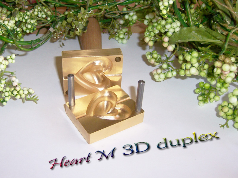 "bead press ""Bavarian 3D Heart M Duplex"""