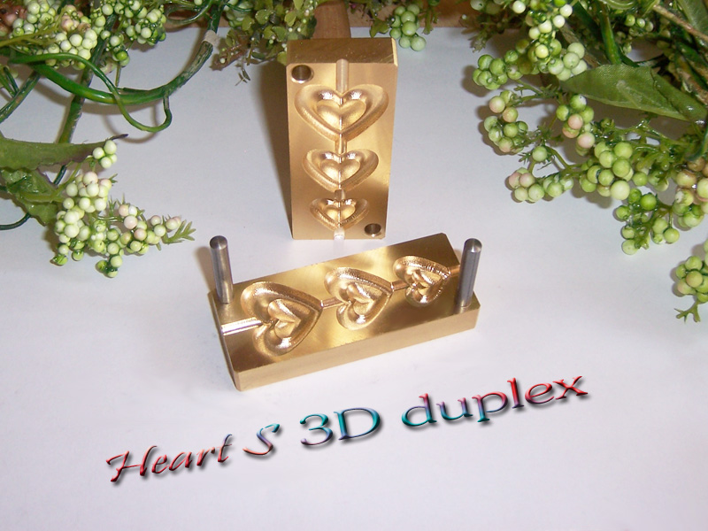 "bead press ""Bavarian 3D Heart S Duplex"""