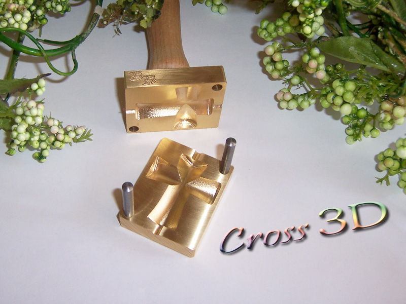 "bead press ""Bavarian 3D Cross"""
