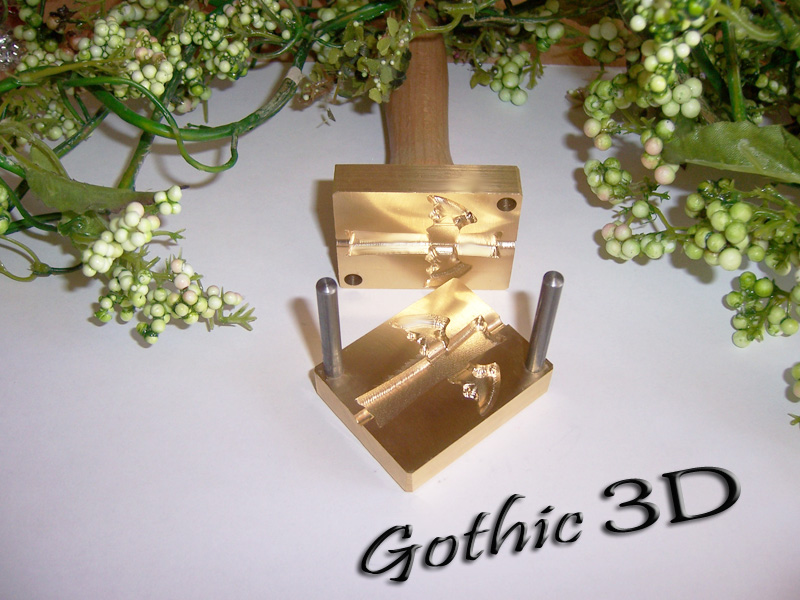 "bead press ""Bavarian 3D Gothic"""