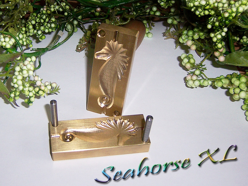"bead press ""Bavarian 3D Seahorse XL"""