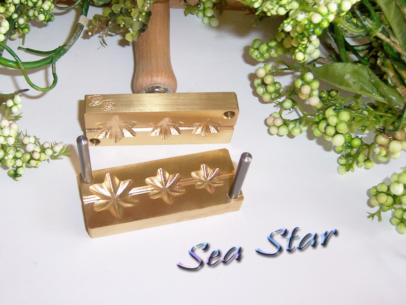 "bead press ""Bavarian 3D Sea Star"""