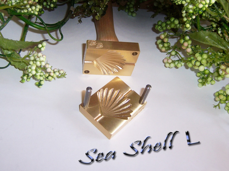 "bead press ""Bavarian 3D Sea Shell L"""