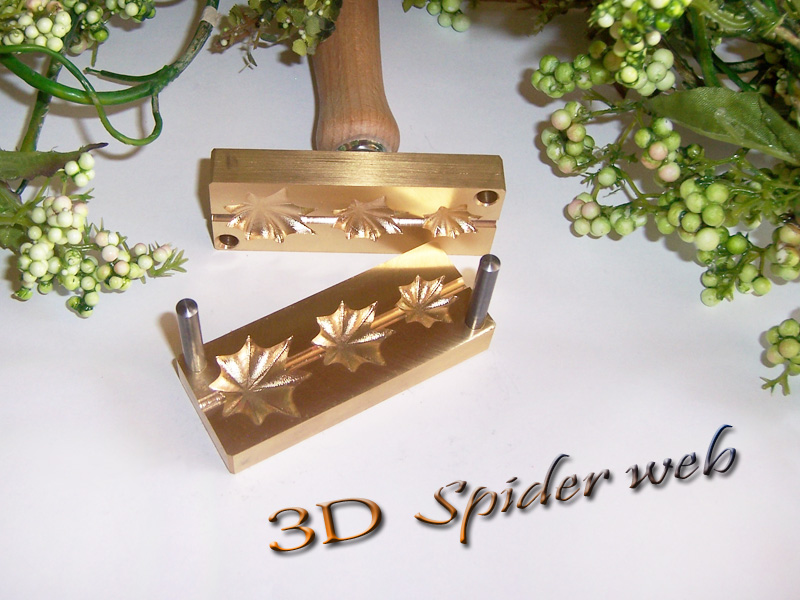 "bead press ""Bavarian 3D Spider web"""