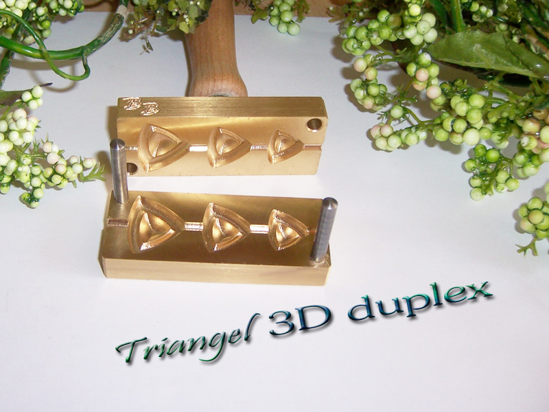 "bead press ""Bavarian 3D Triangle S"""
