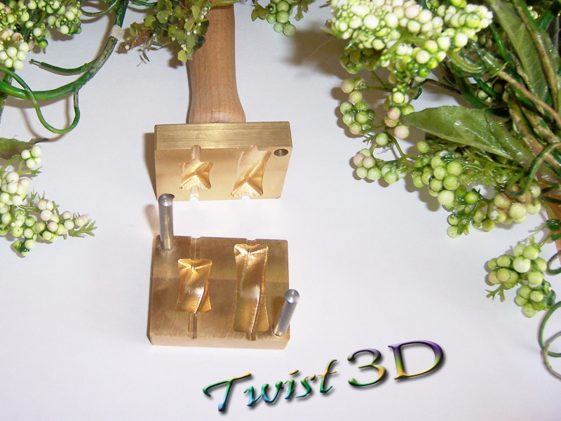 "bead press ""Bavarian 3D Twist"""