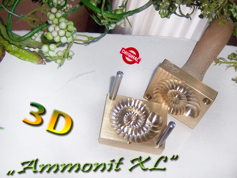 "bead press ""Bavarian 3D Ammonite XL"""