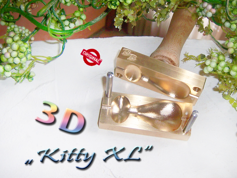 "bead press ""Bavarian 3D Cat XL"""