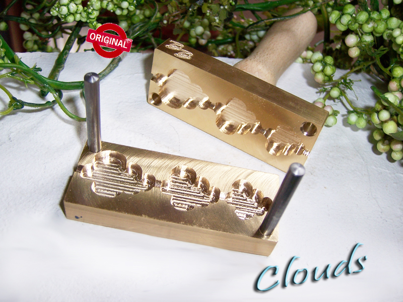 "bead press ""Bavarian Clouds"""
