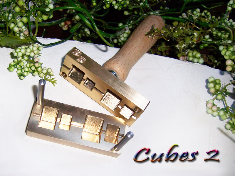 "bead press ""Bavarian cubes 2"""
