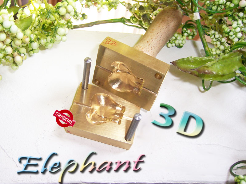 "bead press ""Bavarian 3D Elephant"""