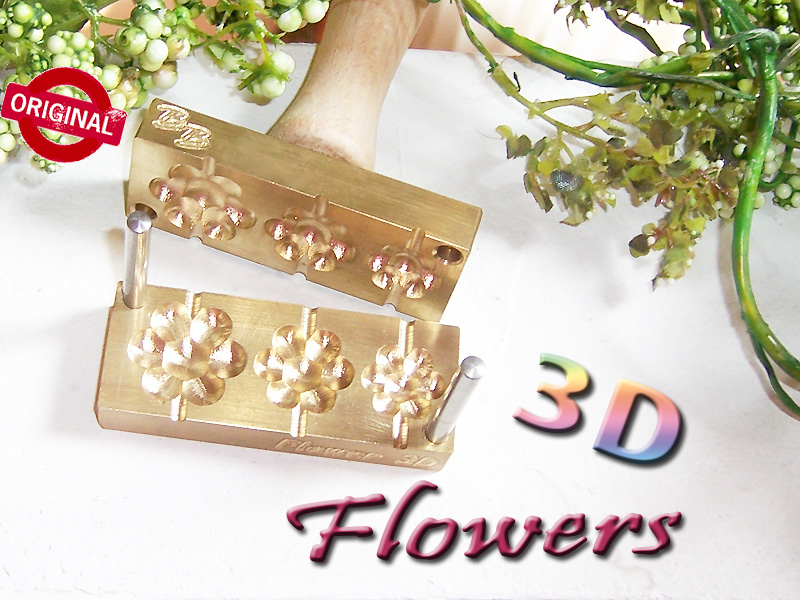 "bead press ""Bavarian 3D flowers"""