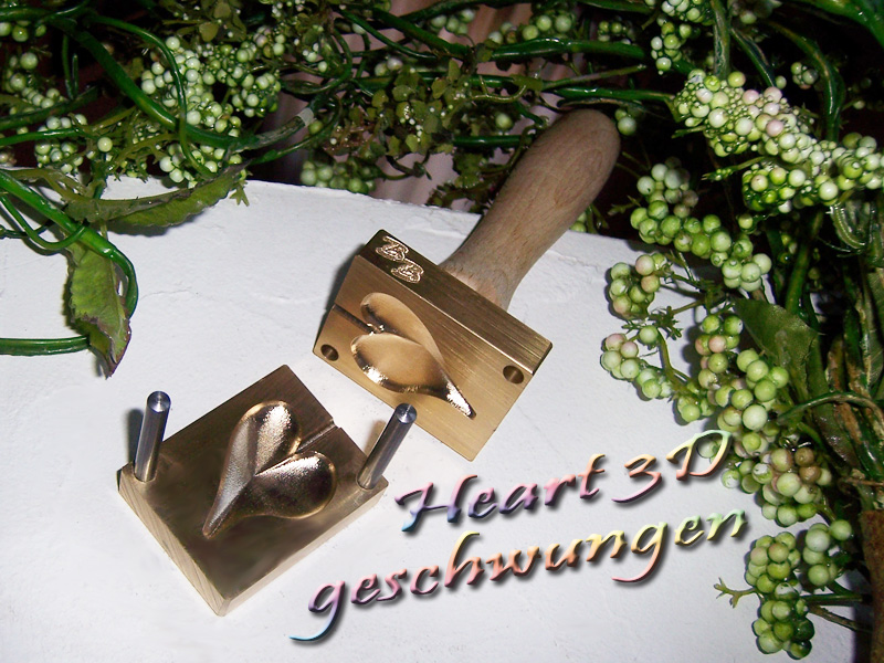 "bead press ""Bavarian 3D Heart 2"""