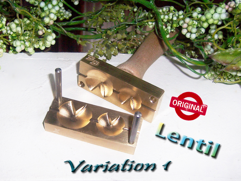 "bead press ""Bavarian Lentils variation 1"""