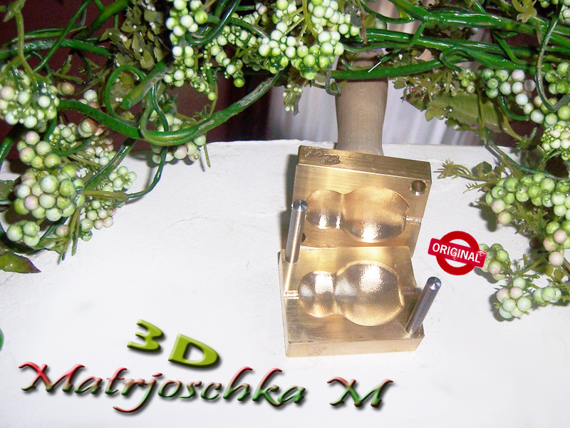 "bead press ""Bavarian 3D Matrjoschka M"""