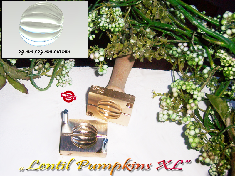 "bead press Bavarian ""Lentil Pumpkins XL """