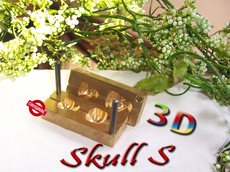 "Presse ""Bavarian 3D SKULL full small"""