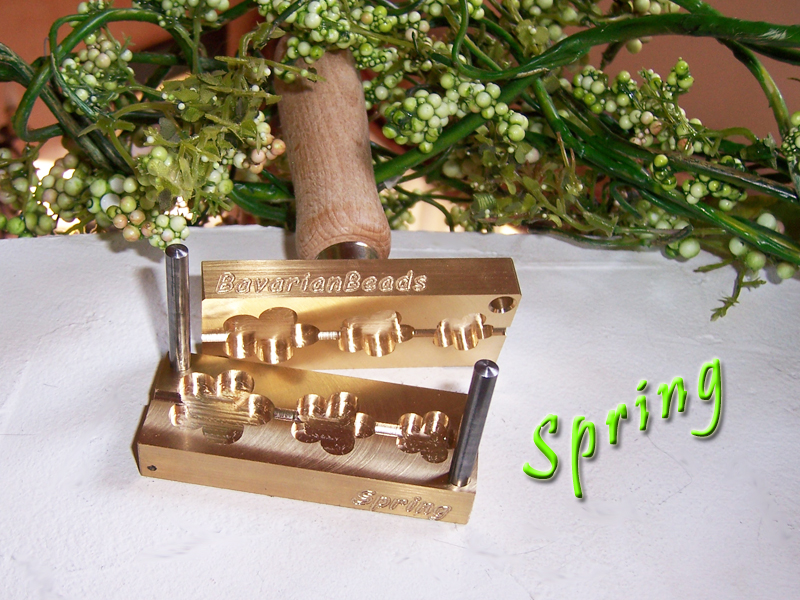 "bead press ""Bavarian spring"" (Flower)"