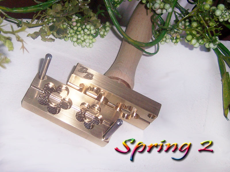 "bead press ""Bavarian spring 2"" (Flower)"