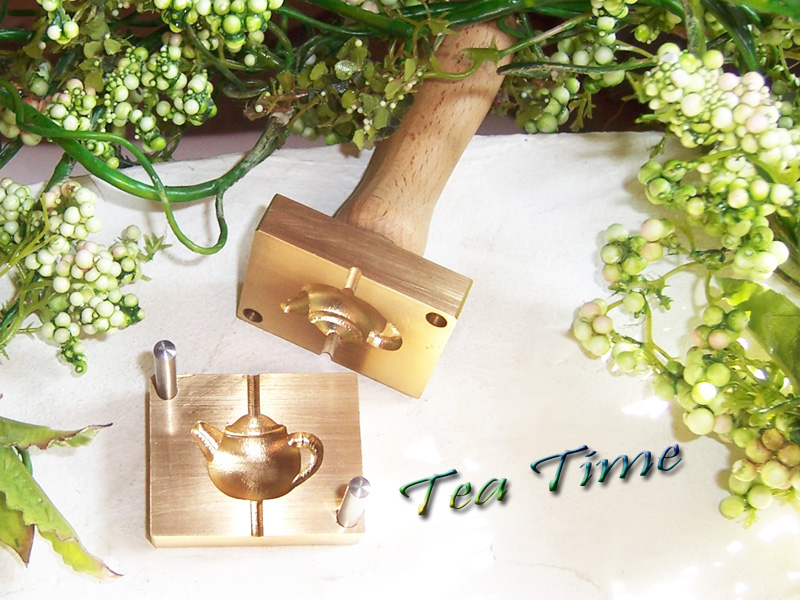 "bead press ""Bavarian 3D tea time"""