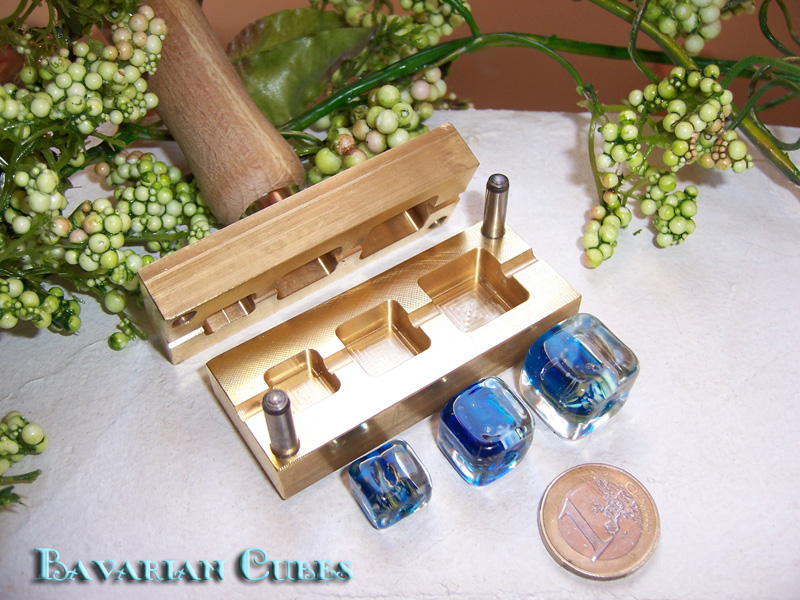 "bead press ""Bavarian Cubes"""