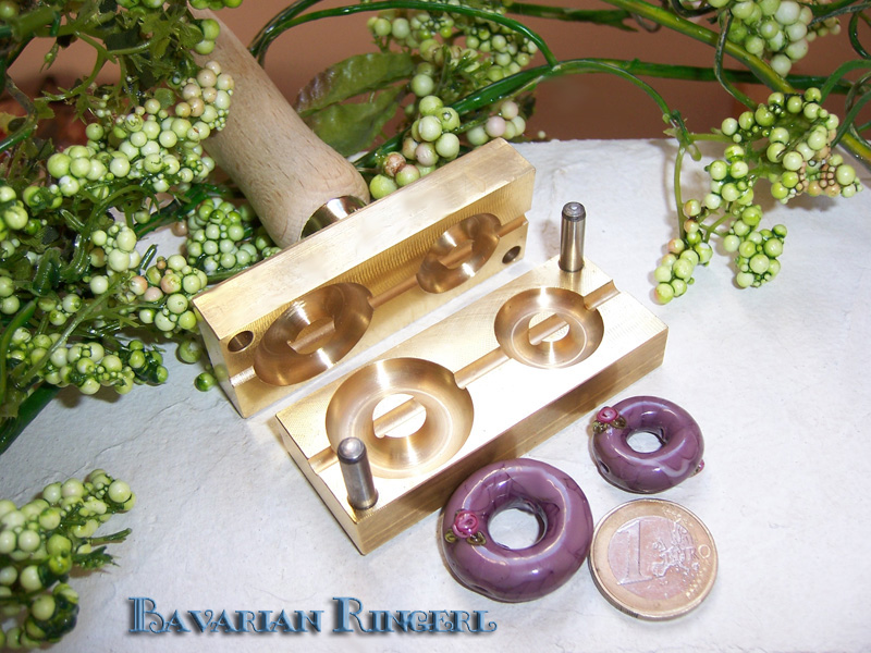 "bead press ""Bavarian Ringerl (Donut)"""