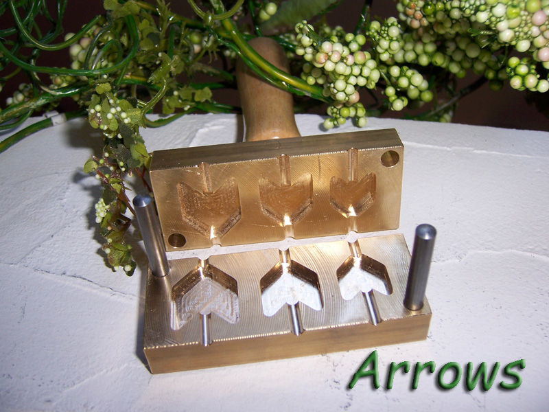 "bead press ""Bavarian arrows"""
