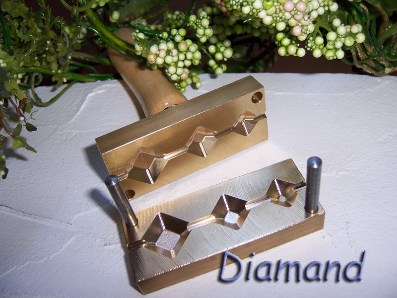 "bead press ""Bavarian diamand"""