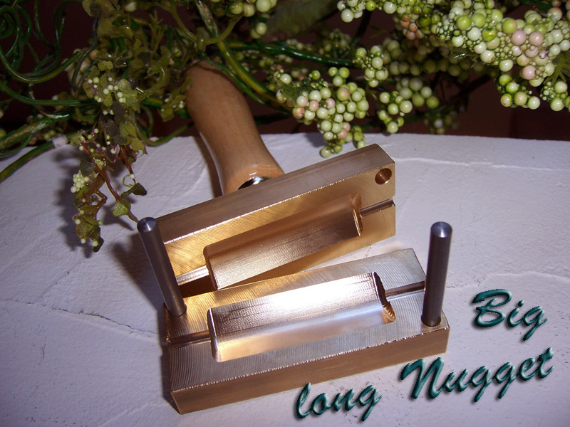 "bead press ""Bavarian big long nugget"""