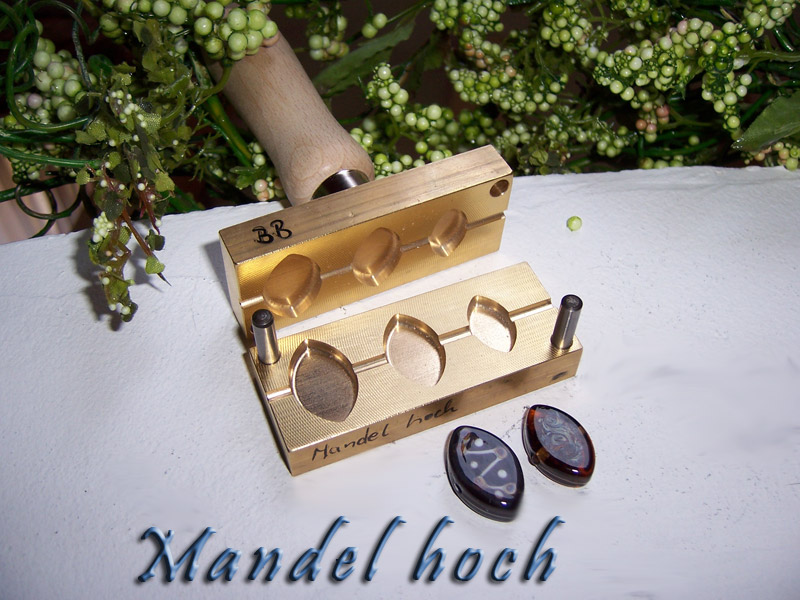"bead press ""Bavarian Mandel hoch """