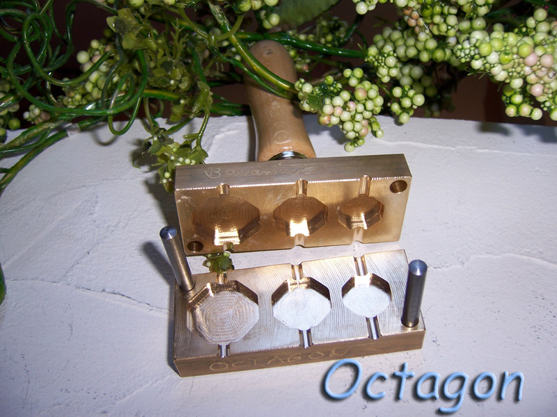 "bead press ""Bavarian octagon"""