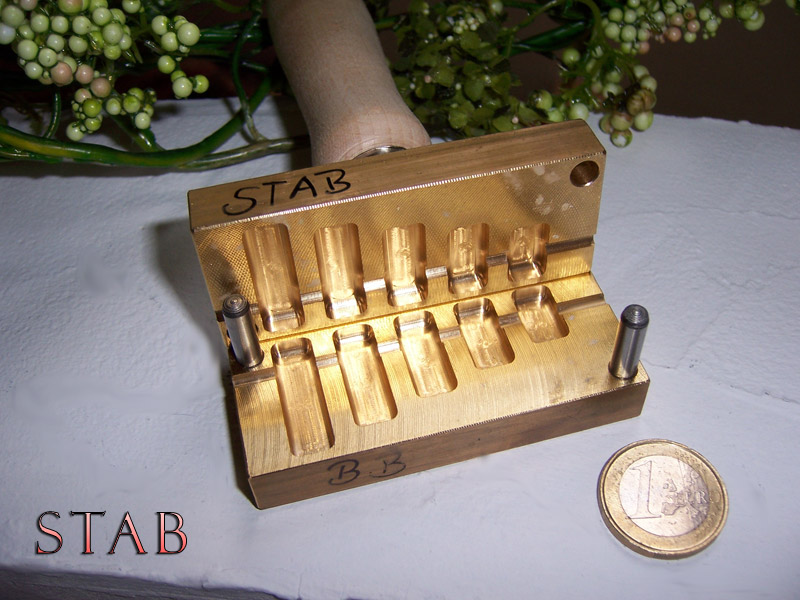 "bead press ""Bavarian Stab"""