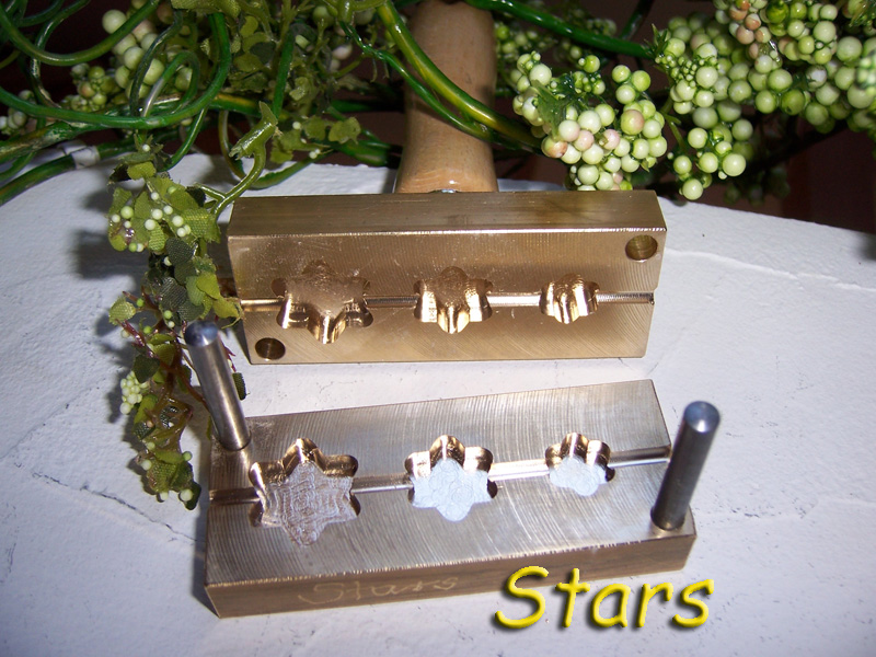 "bead press ""Bavarian stars 6"""