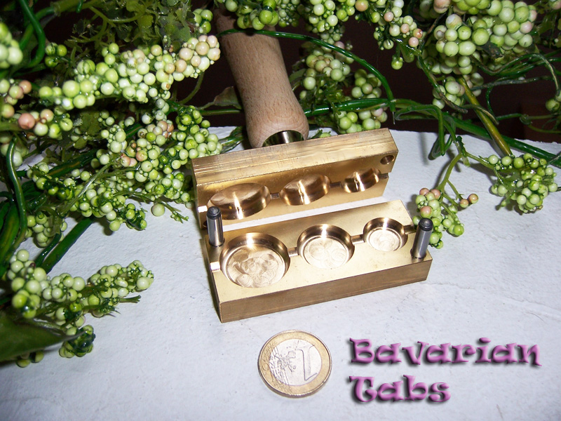 "bead press ""Bavarian Tabs"""